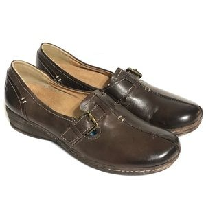 Naturalizer's Milla Brown Leather Loafer